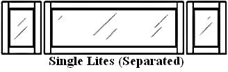 Single Lites (separated)