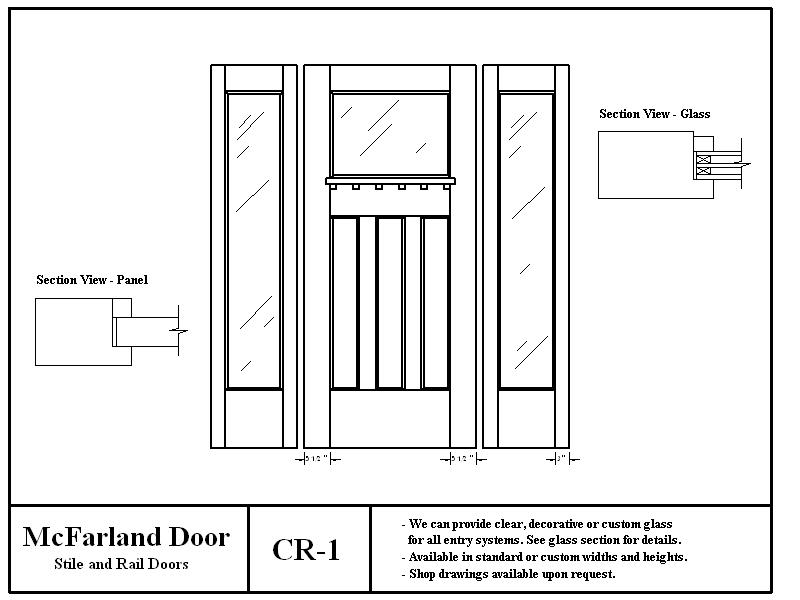 CR-1  sc 1 st  McFarland Door & McFarland Entry Doors pezcame.com
