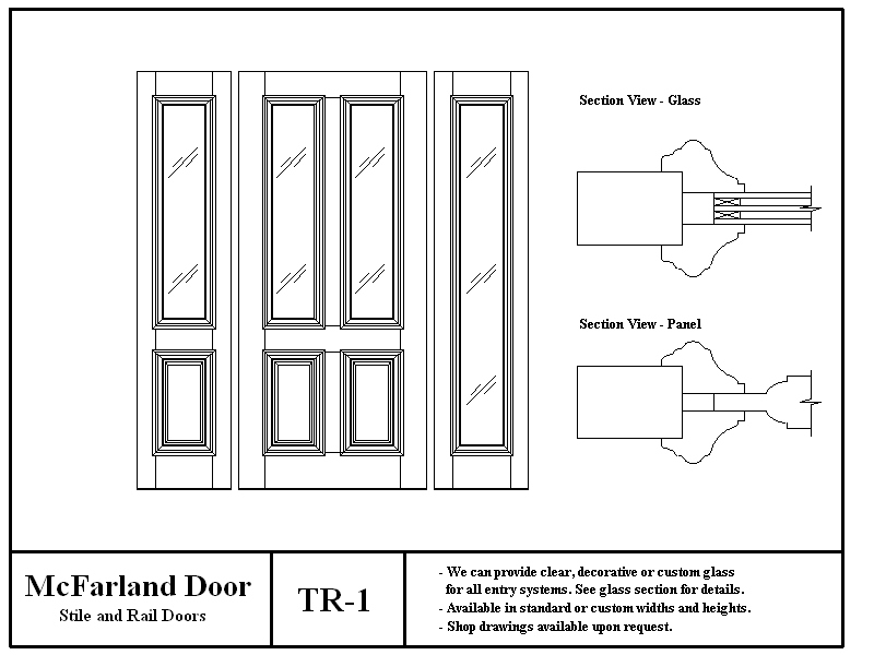 Click on a Door for More Details  sc 1 st  McFarland Door & McFarland Entry Doors
