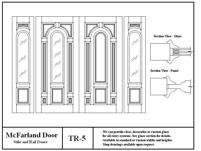TR-5  sc 1 st  McFarland Door & McFarland Entry Doors